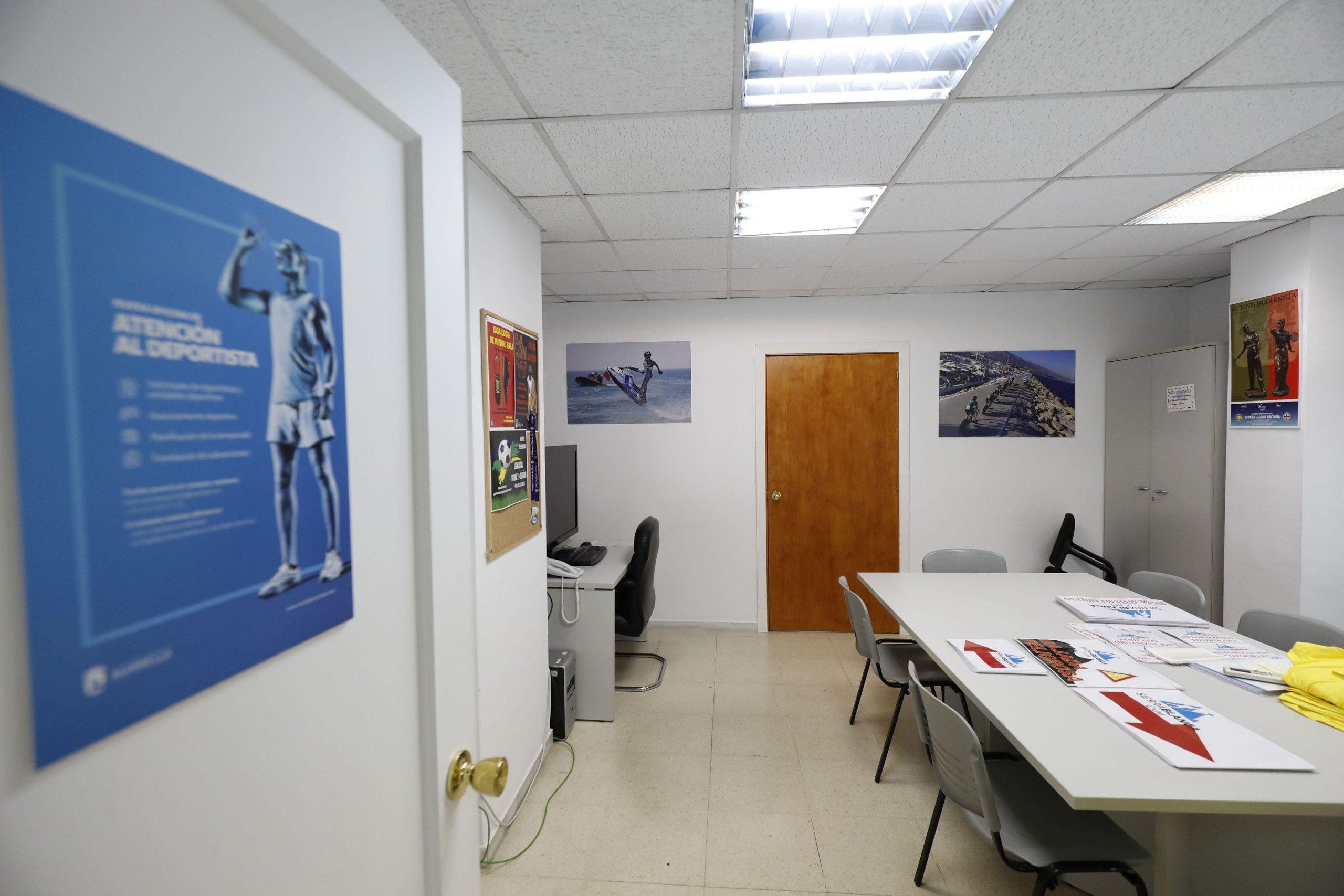 Oficina de Atención al Deportista del Ayuntamiento de Marbella