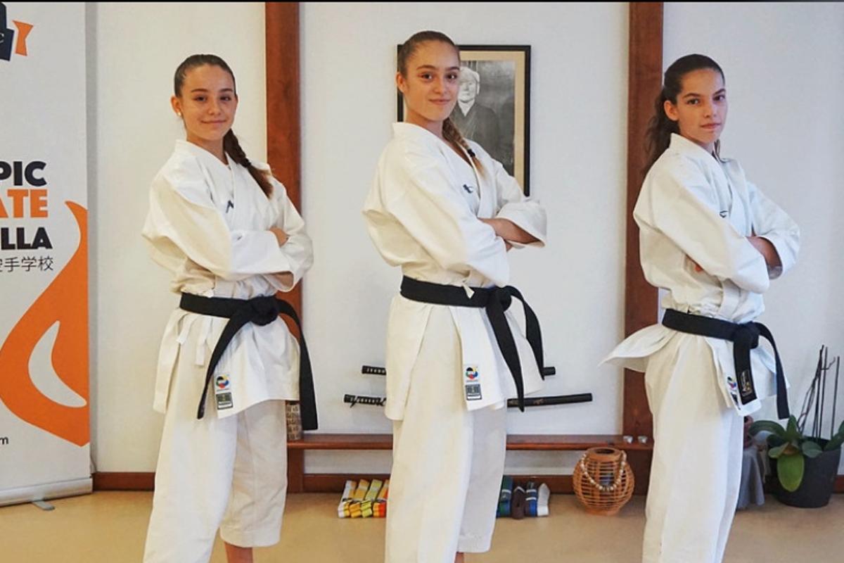 Olympic Karate Marbella alza los brazos con dos oros en las World Series Online