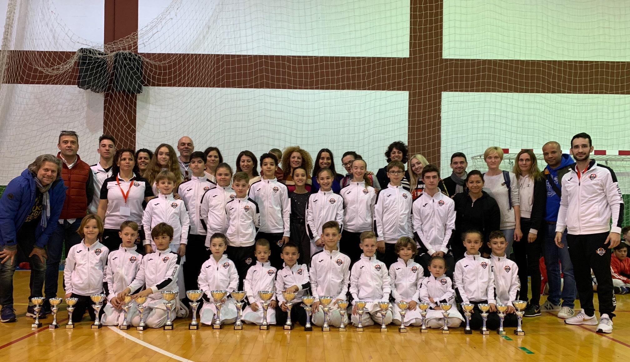 Olympic Karate Marbella, club número uno del medallero malagueño
