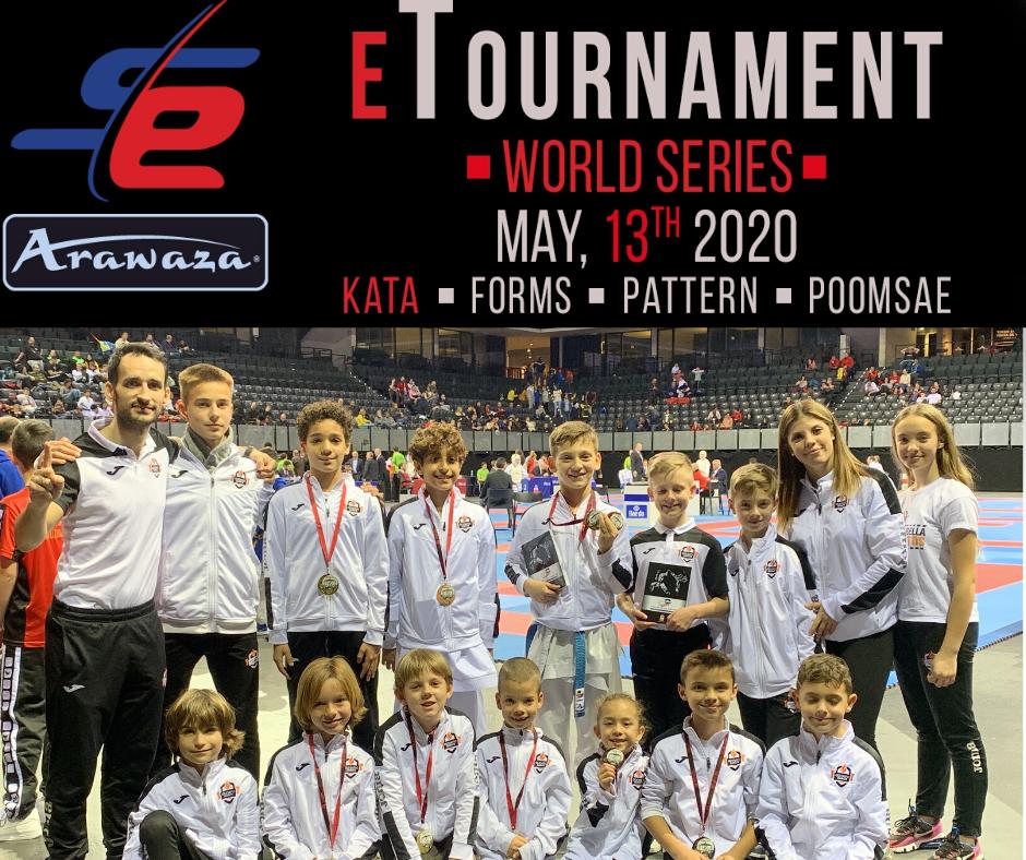 Olympic Karate Marbella, líder del ranking de las Series Mundiales de Karate online