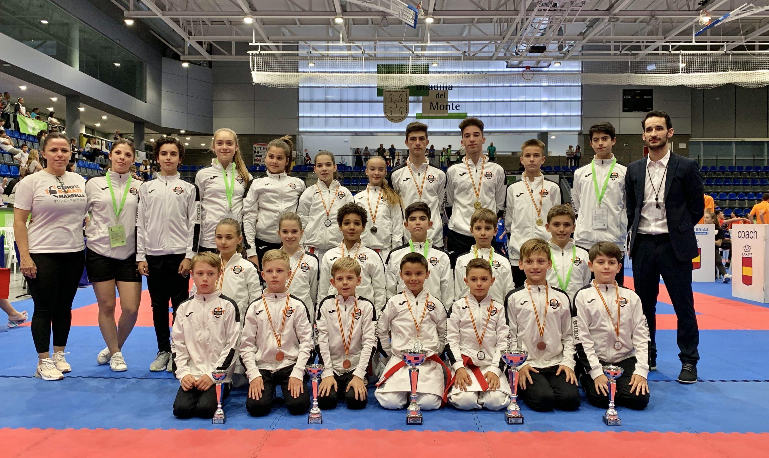 Olympic Karate Marbella se proclama Bicampeón Nacional por Equipos