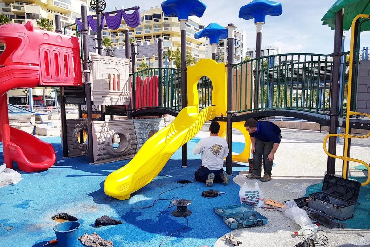 El Ayuntamiento acomete un programa de actuaciones para la mejora y puesta en valor de las áreas infantiles y los parques caninos