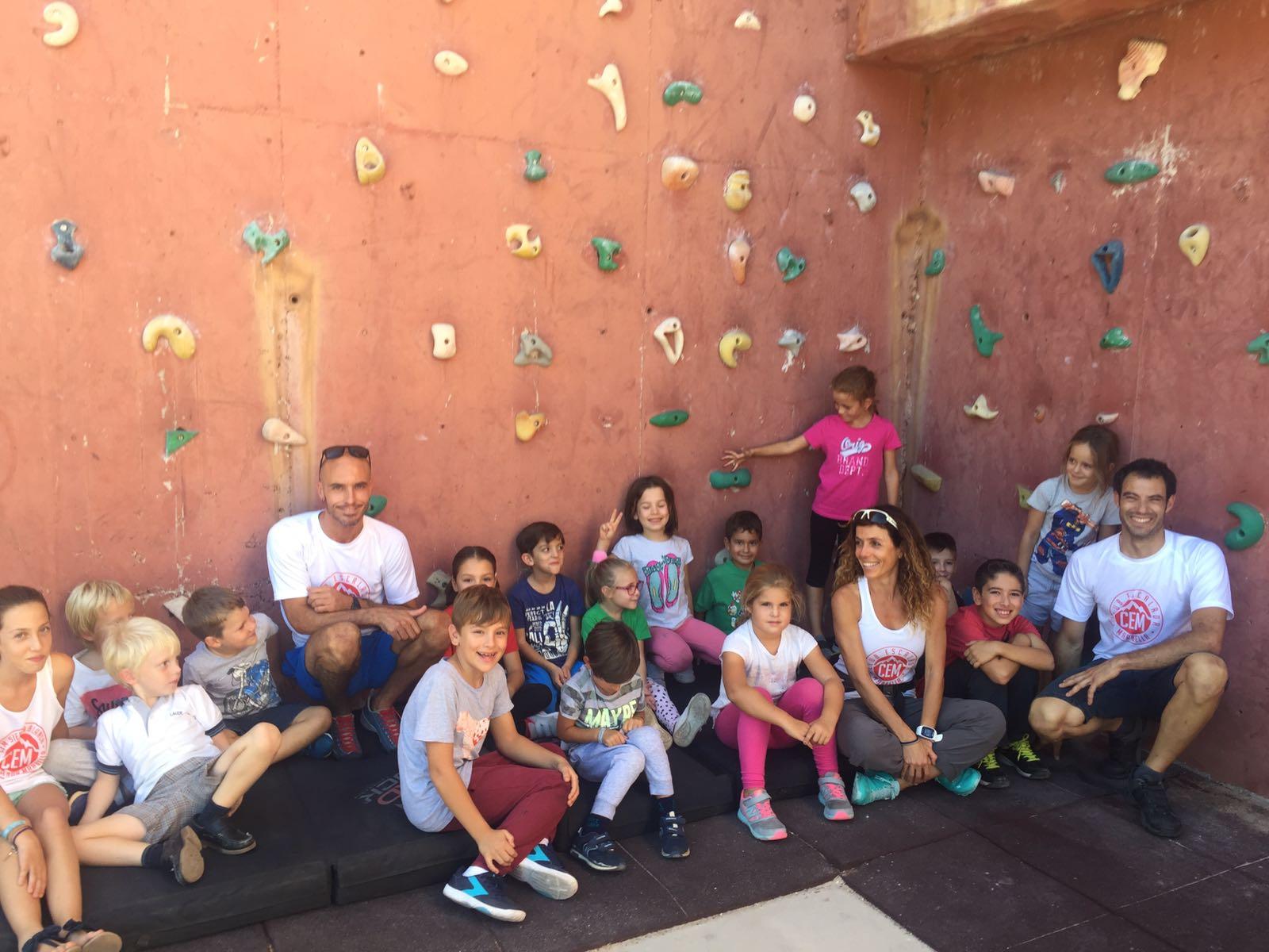 Participantes del Club Escalada Marbella