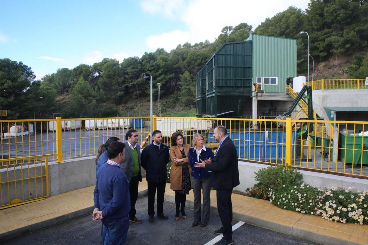 planta de transferencia para residuos de construcción y poda