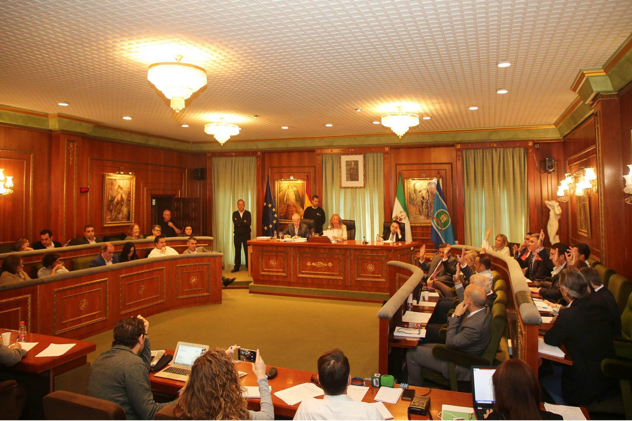 El Pleno del Ayuntamiento de Marbella aprueba más de 20 millones de euros para el Plan de Inversiones Sostenibles