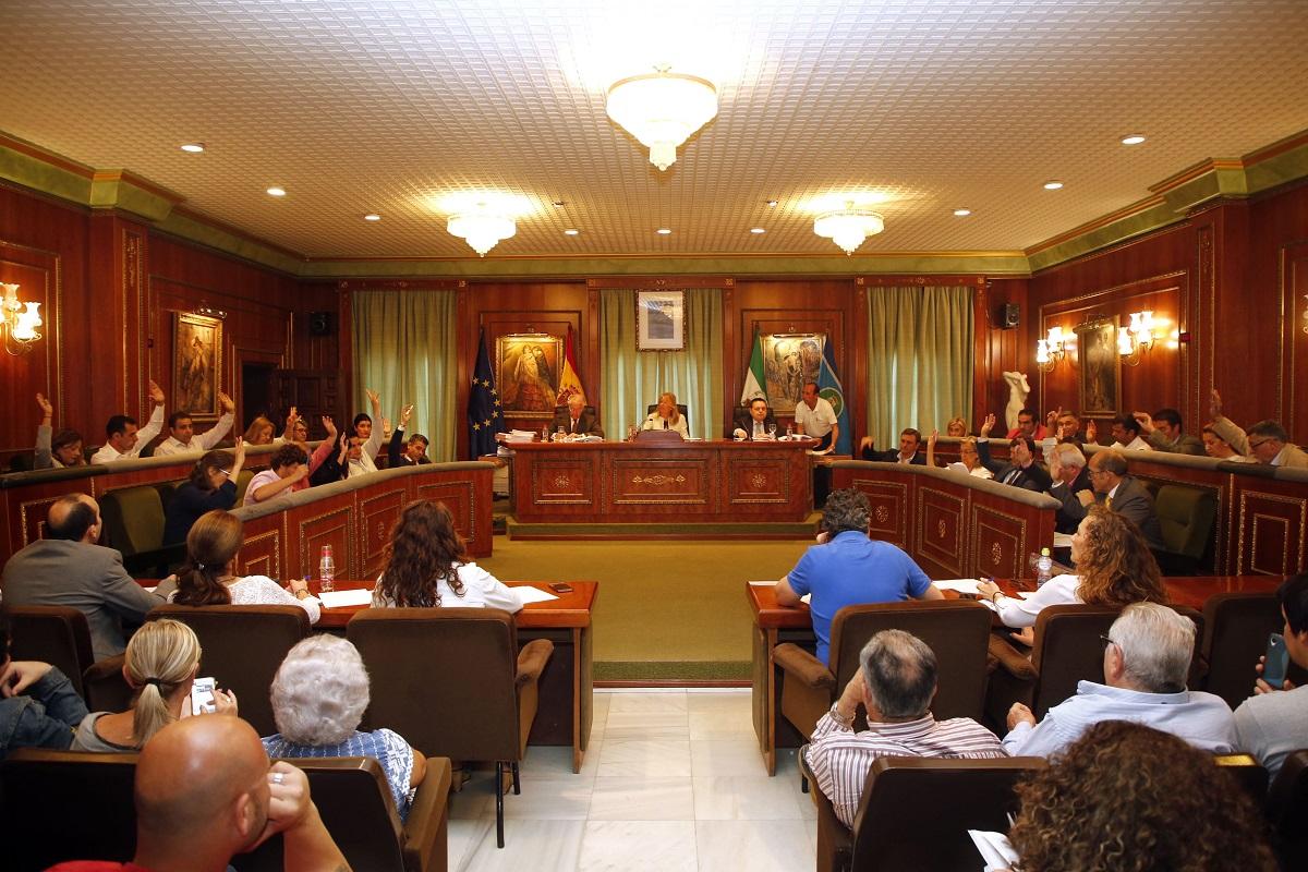 El Pleno ratifica por unanimidad ceder la parcela de Las Chapas para que la Junta construya un instituto