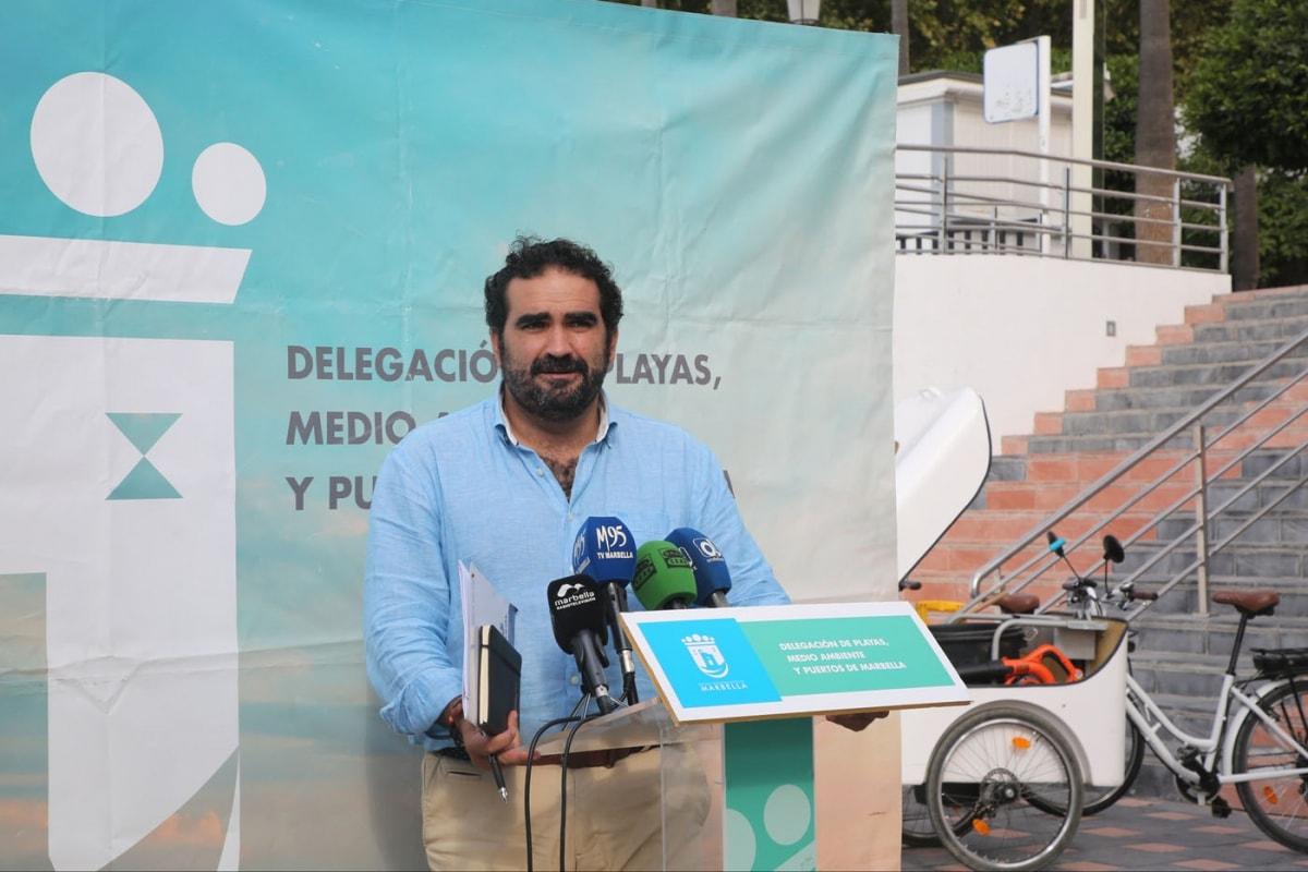El Ayuntamiento impulsa en el último año múltiples iniciativas para poner en valor el litoral de Marbella