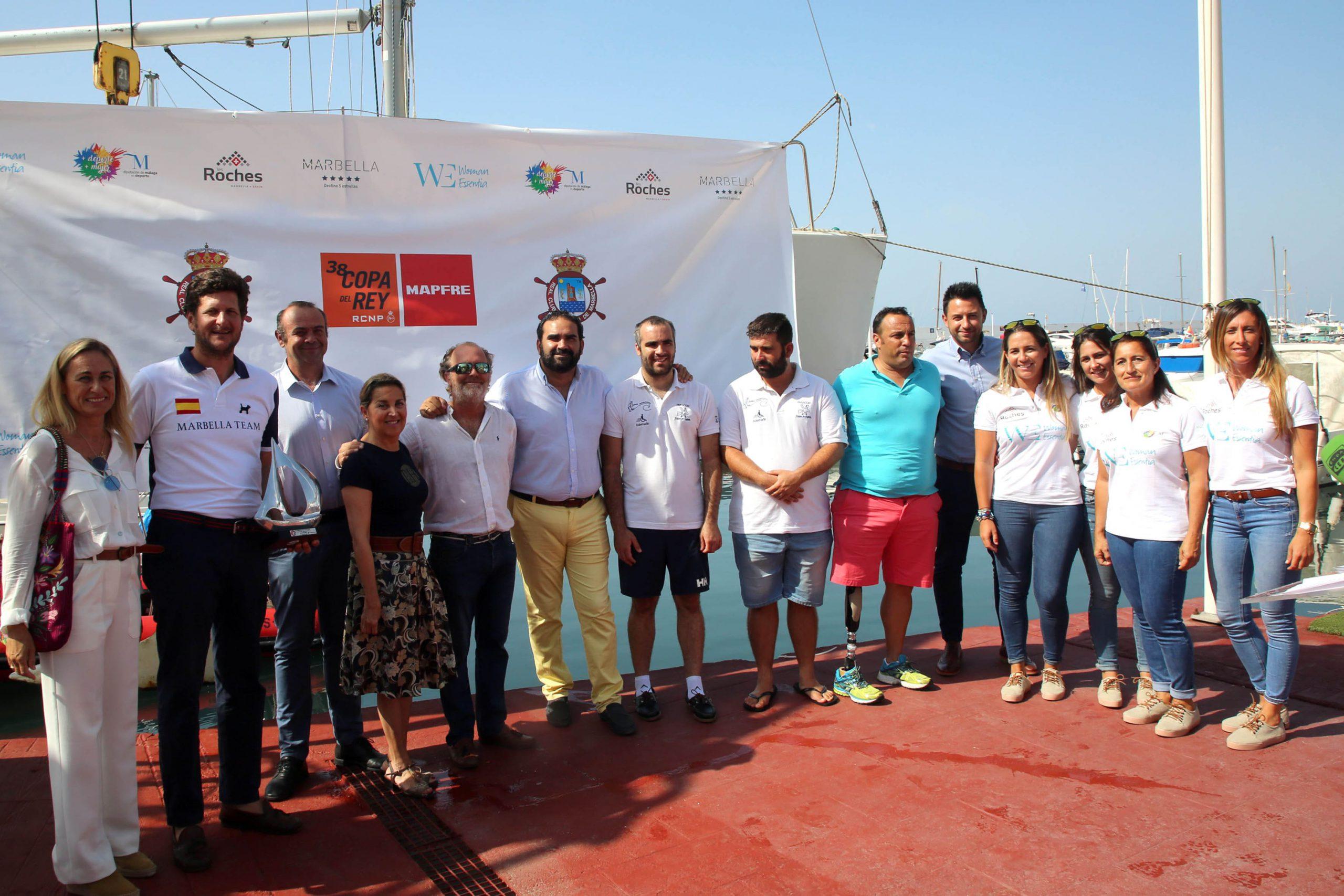 Por primera vez Marbella participará con un equipo femenino de vela en la 38ª Copa del Rey