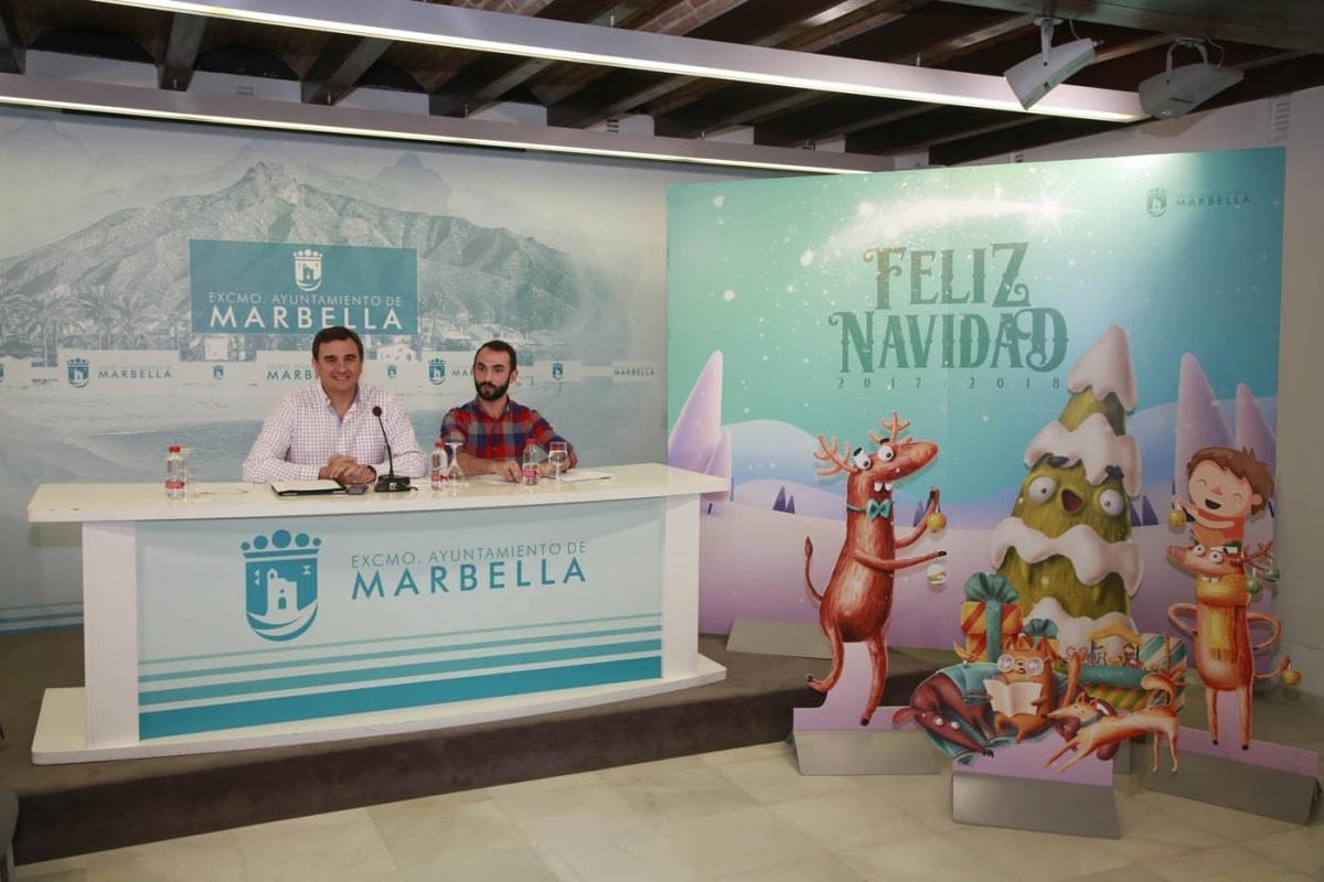 Más de 150 actividades y alrededor de 30 eventos infantiles integran el novedoso programa de Navidad en Marbella