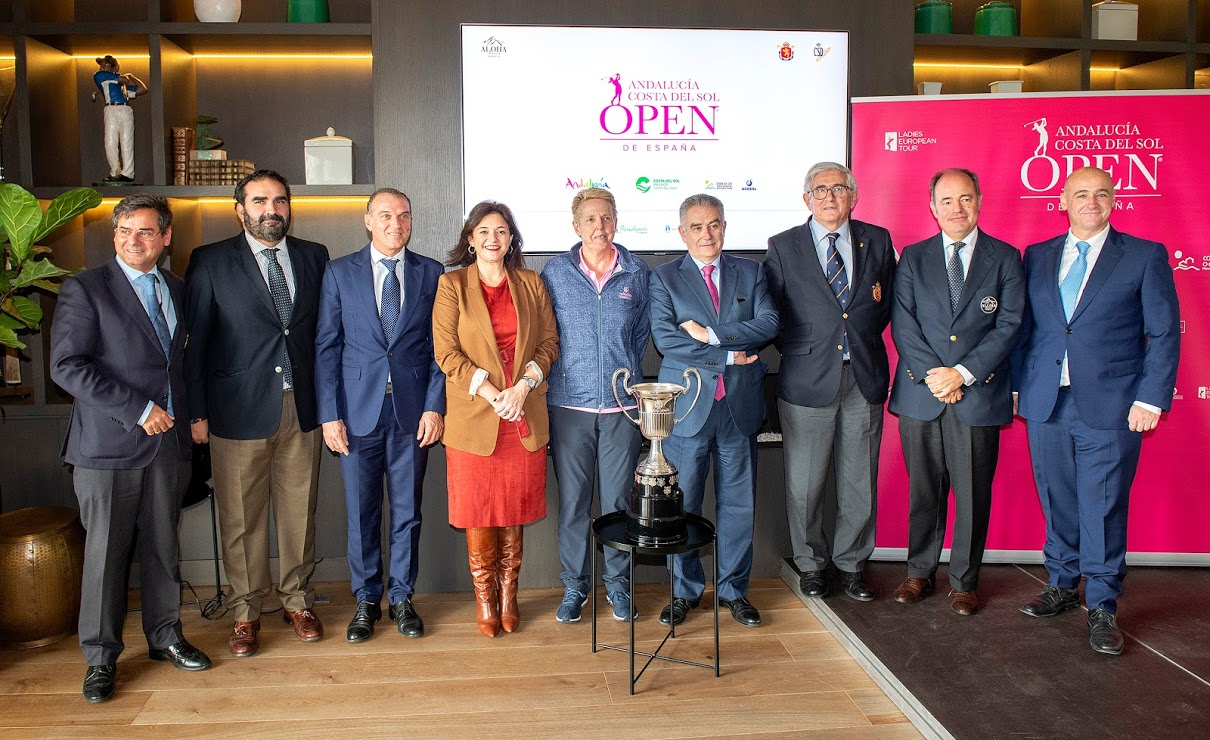 Presentado oficialmente el Andalucía Costa del Sol Open de España Femenino 2019