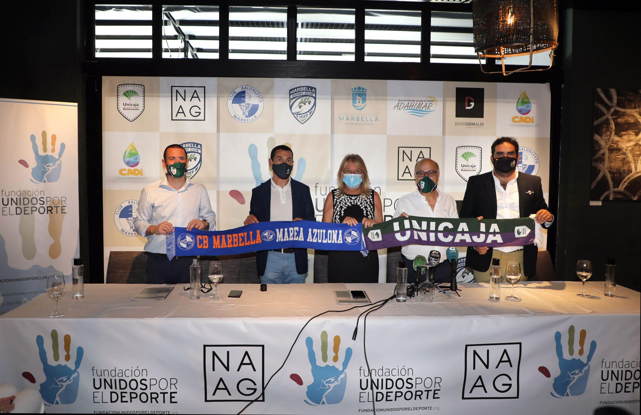 Presentan en Marbella la Fundación 'Unidos por el Deporte'