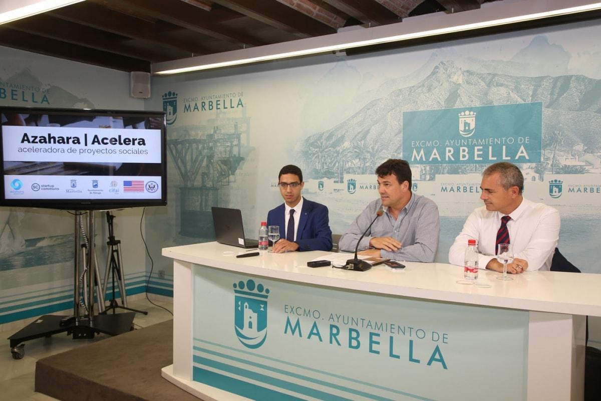 Marbella se suma al programa Azahara, destinado a emprendedores y desempleados que quieran poner en marcha proyectos de innovación social