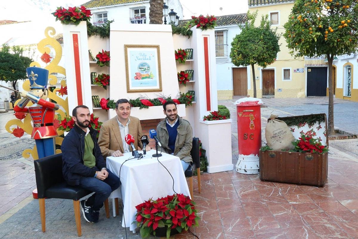 Marbella celebrará la Navidad con más de 150 actividades que arrancan el viernes con el encendido del alumbrado