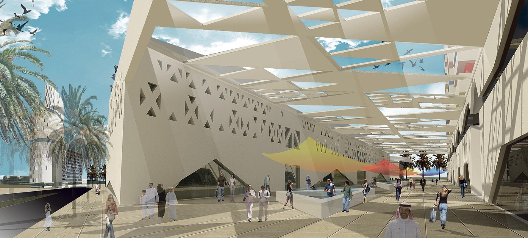 Proyecto de centro comercial de La Bajadilla