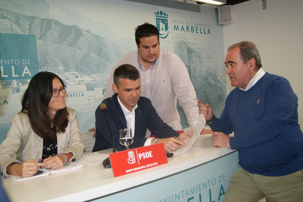 El PSOE ha presentado las alegaciones al reglamento del uso de la cantera de Nagüeles