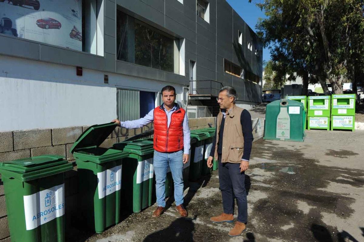 El Ayuntamiento habilita en el Polígono La Ermita un punto de transferencia de residuos para dar solución a los vertidos incontrolados