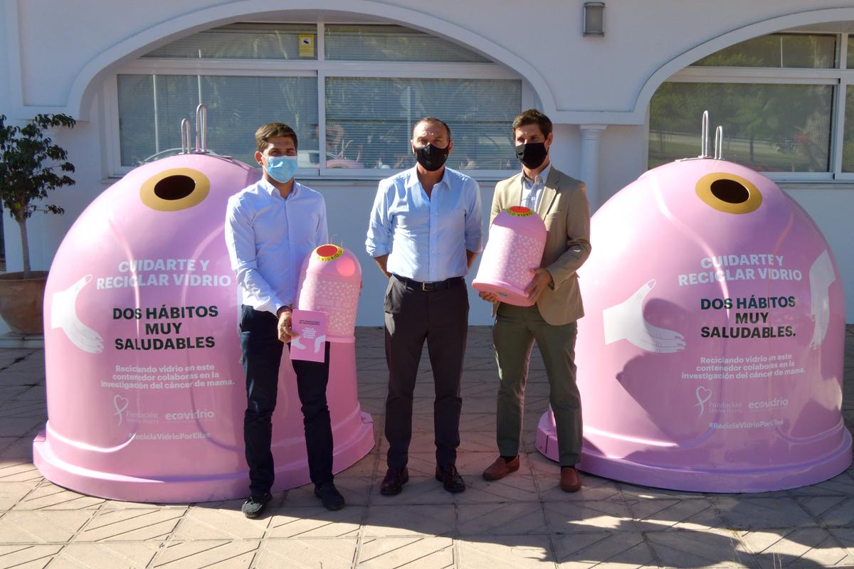 Recicla Vidrio por ellas, campaña por el Día Mundial del Cáncer de Mama