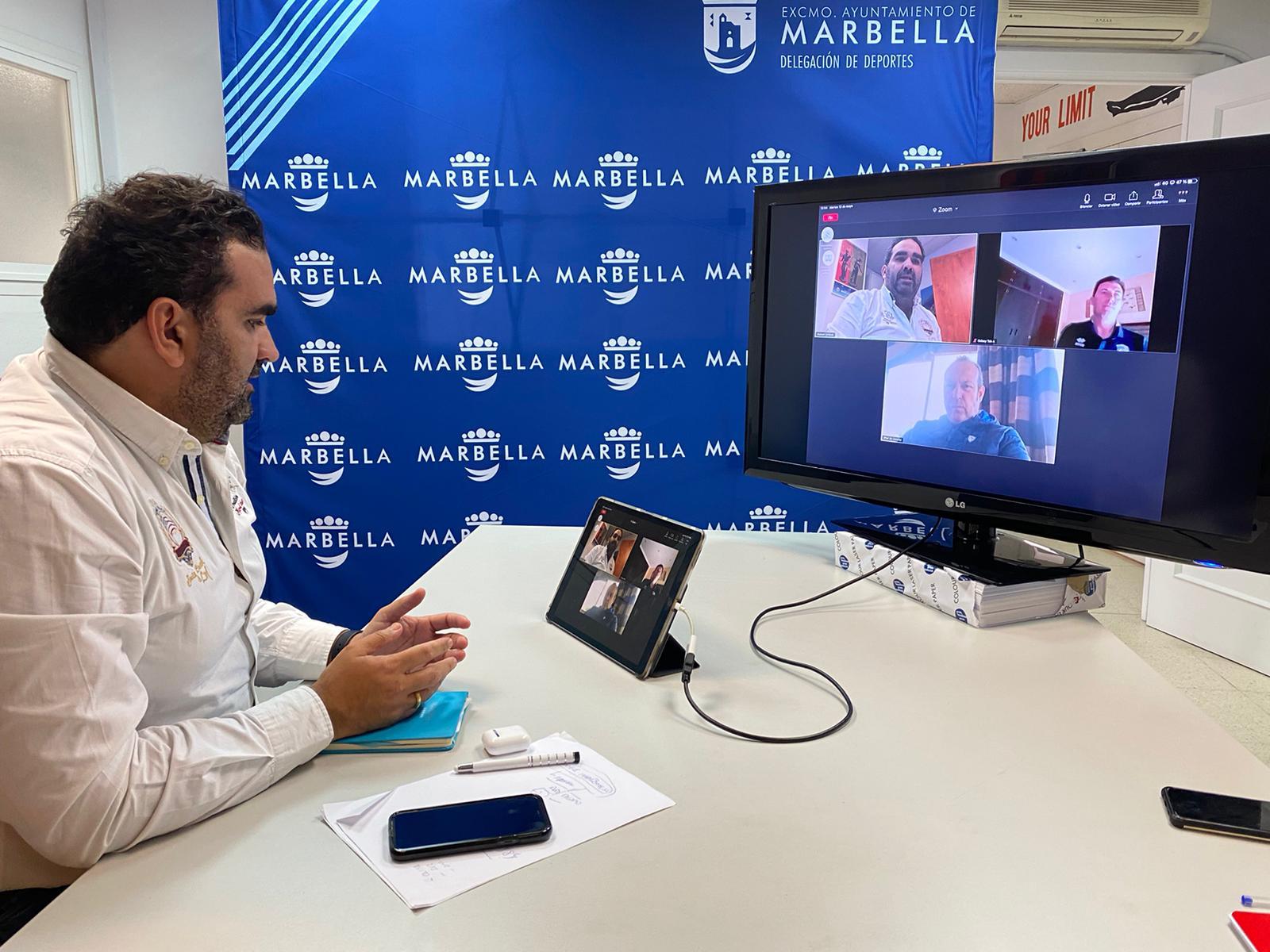 Reconocen la contribución del Marbella Rugby Club a la proyección de la marca de la ciudad