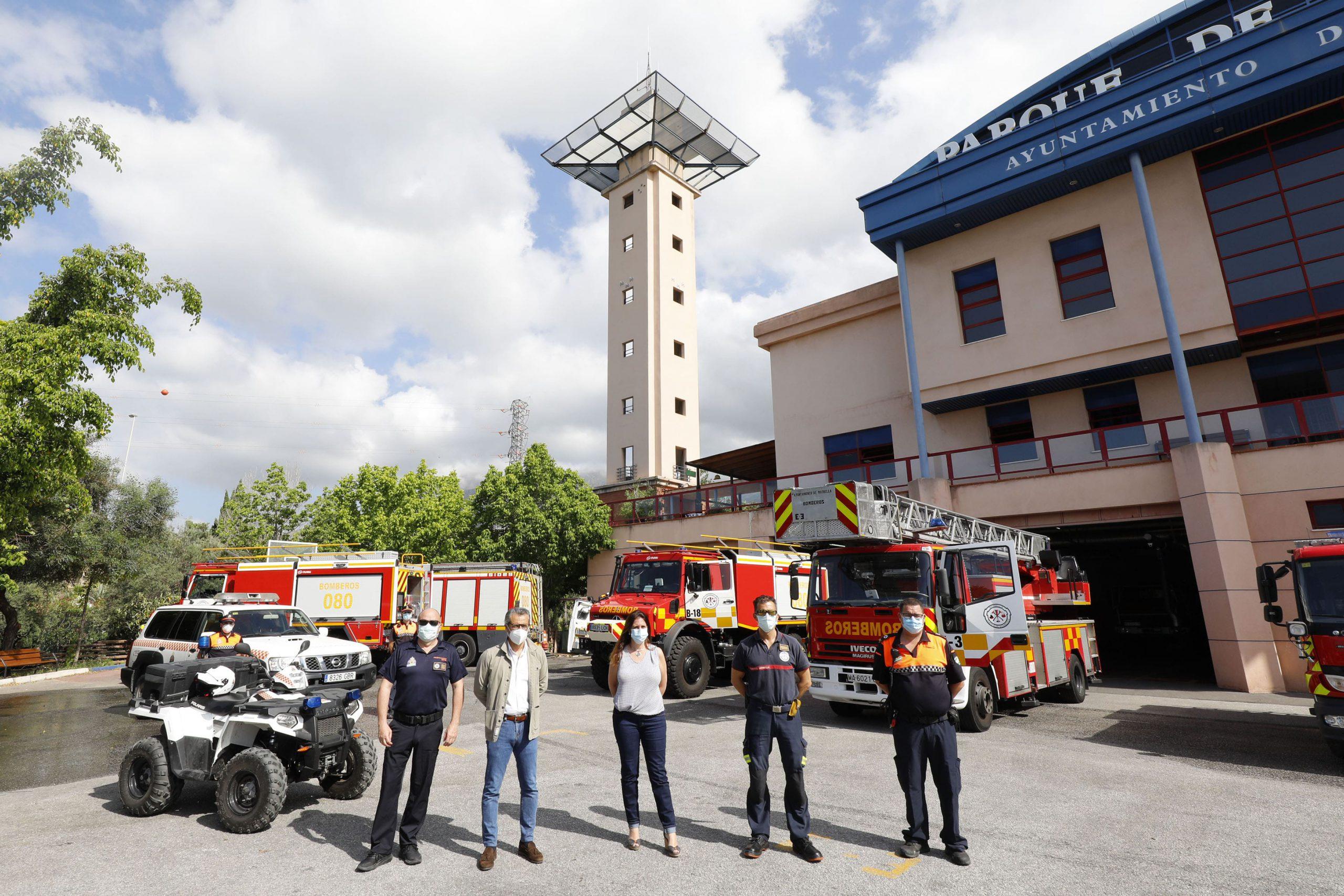 Refuerzan los medios técnicos de cara a la campaña de alto riesgo de incendios forestales