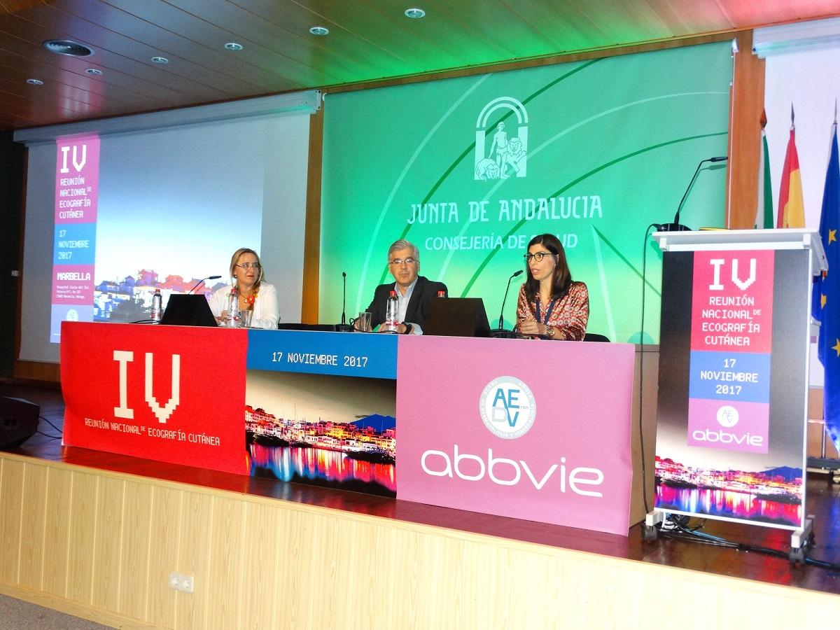 El Hospital Costa del Sol acoge la IV Reunión Anual de Ecografía Cutánea