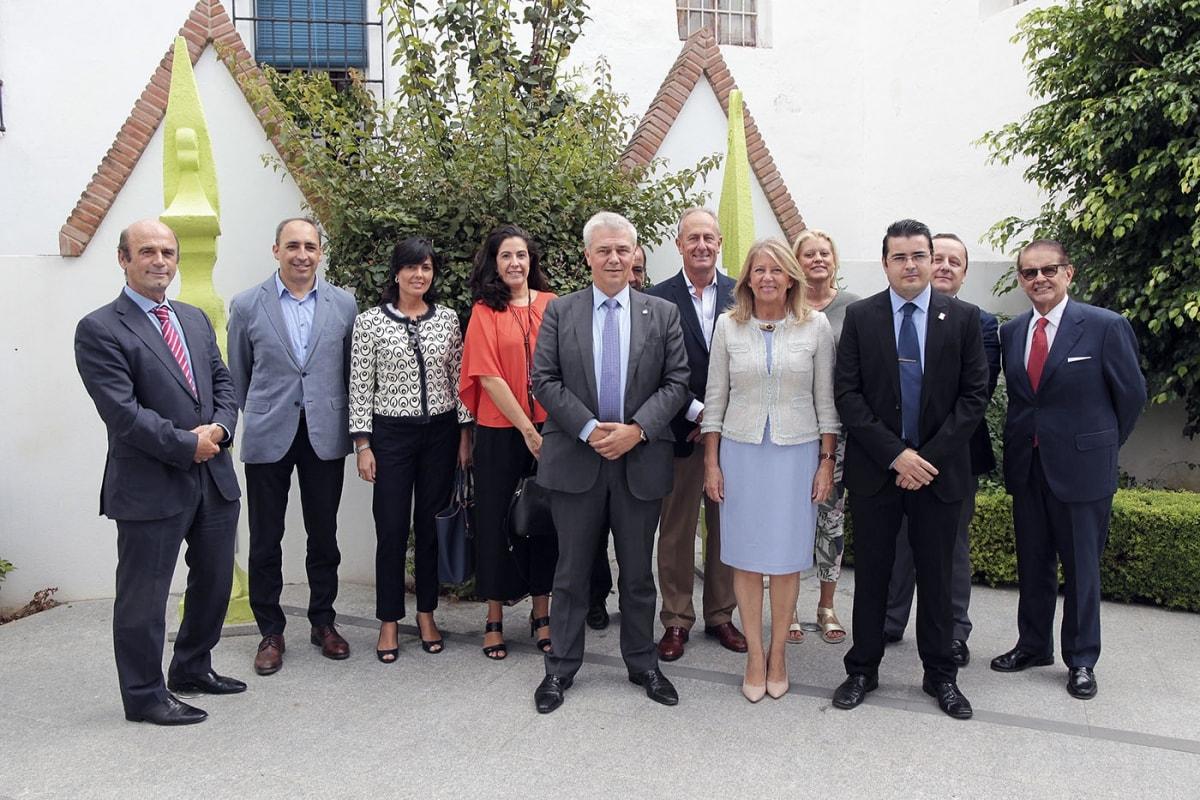 reunión de directores de hoteles de Marbella