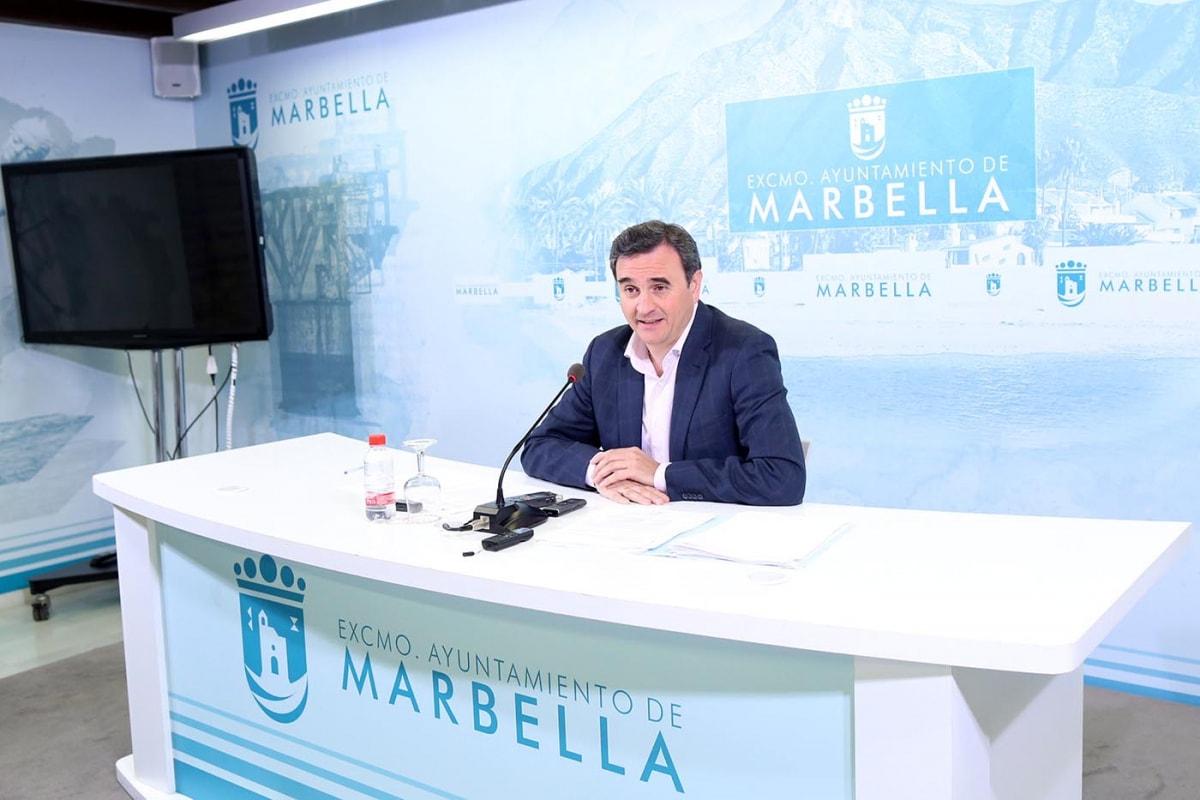 """El equipo de Gobierno considera un """"nuevo atropello para Marbella"""" que la Tesorería General de la Seguridad Social """"pretenda romper el acuerdo de fraccionamiento de pago de la deuda del Ayuntamiento"""""""