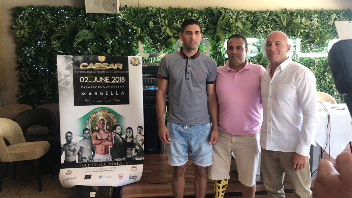 El luchador marbellí Rubén Lee aspira a ser campeón de Europa de Muay Thai