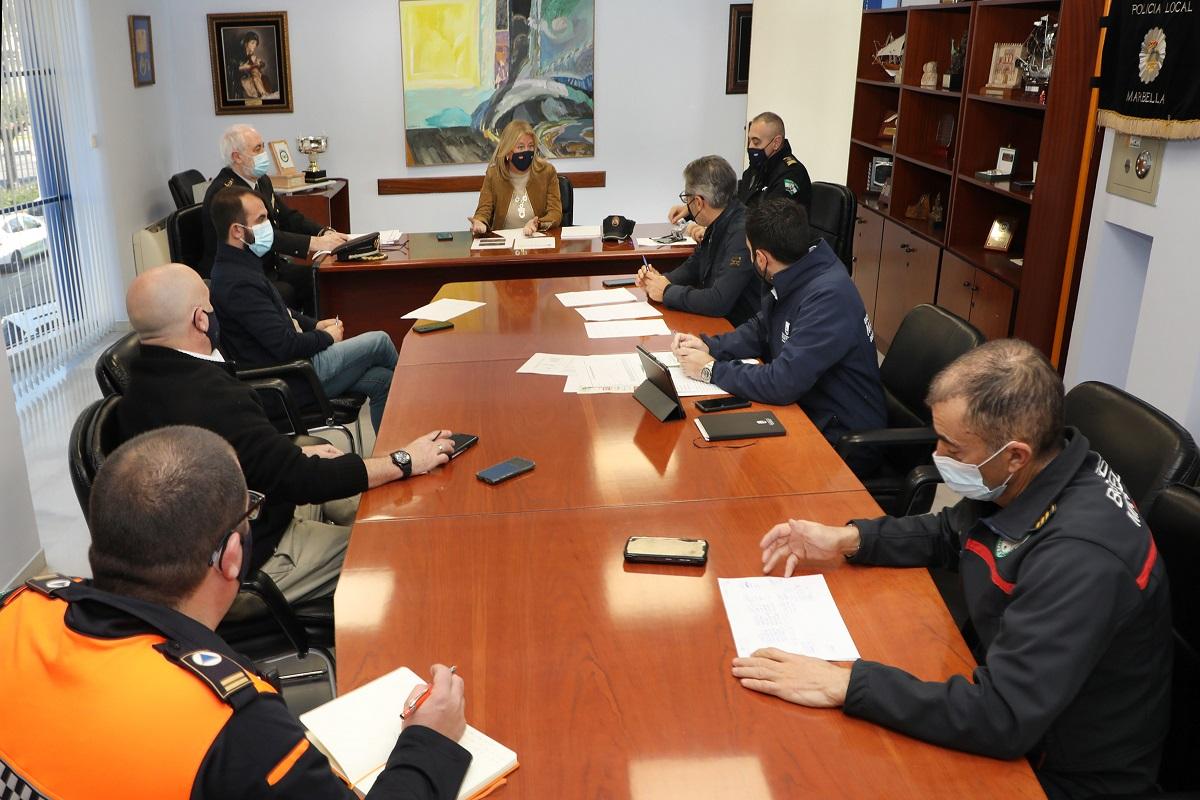 Se refuerza el Comité de Contingencia Covid Marbella para el seguimiento de la cuarentena domiciliaria