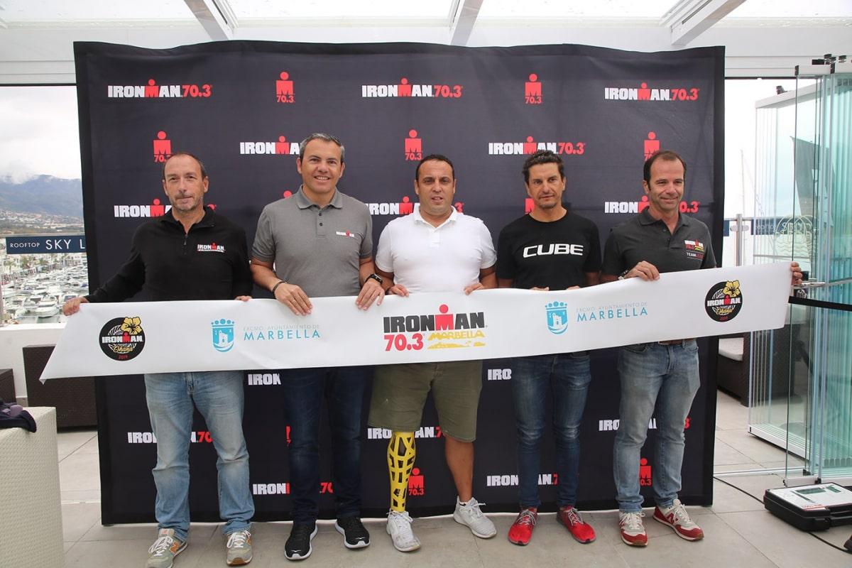 2.500 triatletas de todo el mundo se dan cita este sábado en Marbella en la segunda edición del Ironman 70.3
