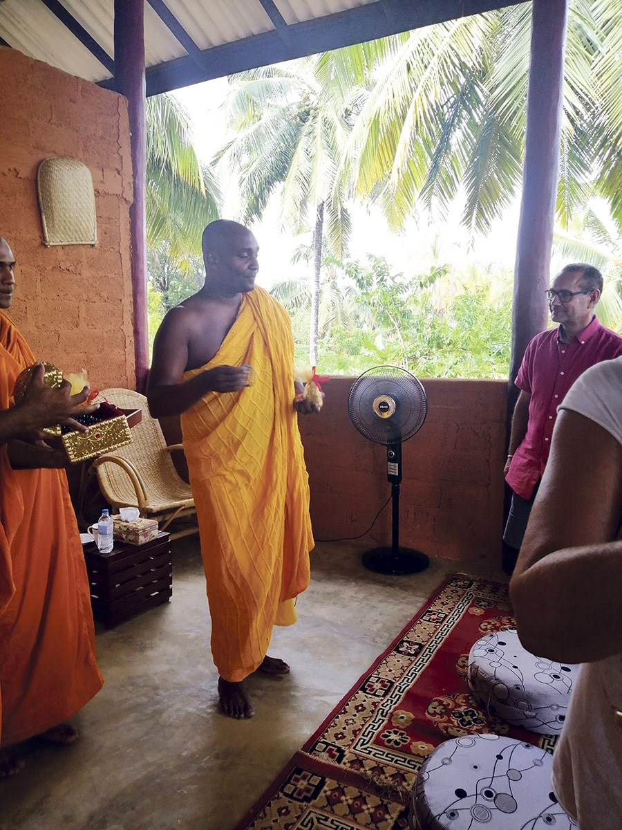 Sri Lanka monjes