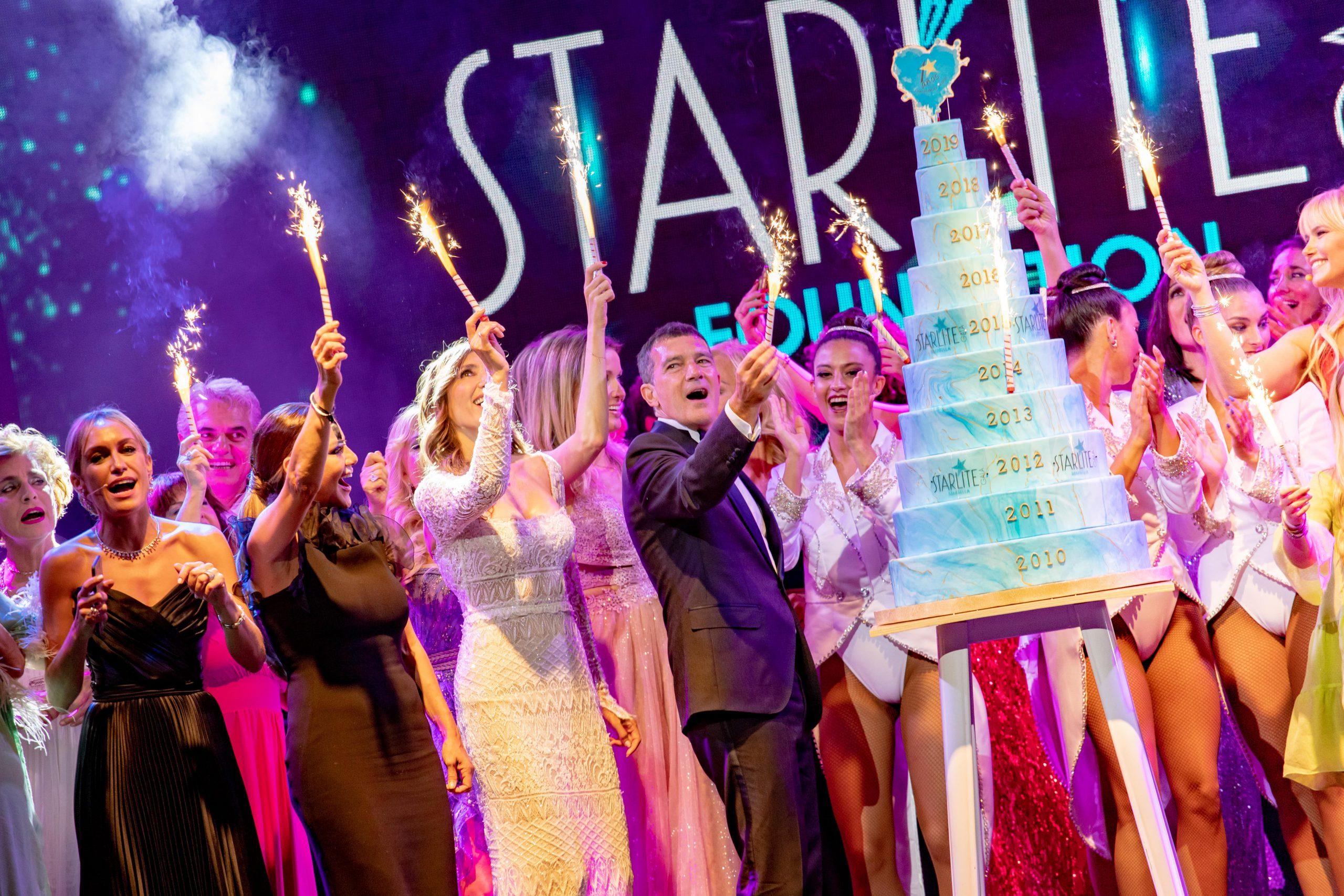 Starlite Galacelebra su XI edición en Marbella reconociendo la labor de Antonio Banderas