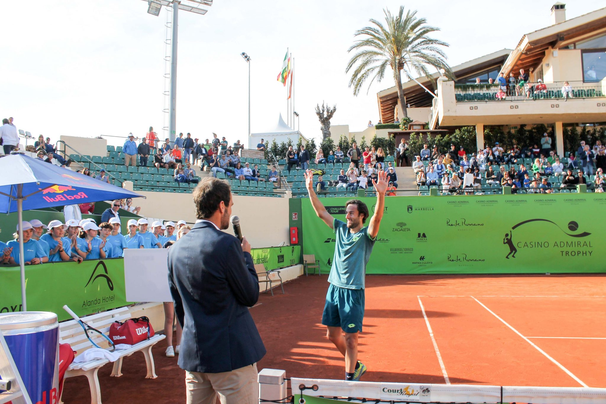 Stefano Travaglia se hace con el trofeo Casino Admiral Trophy