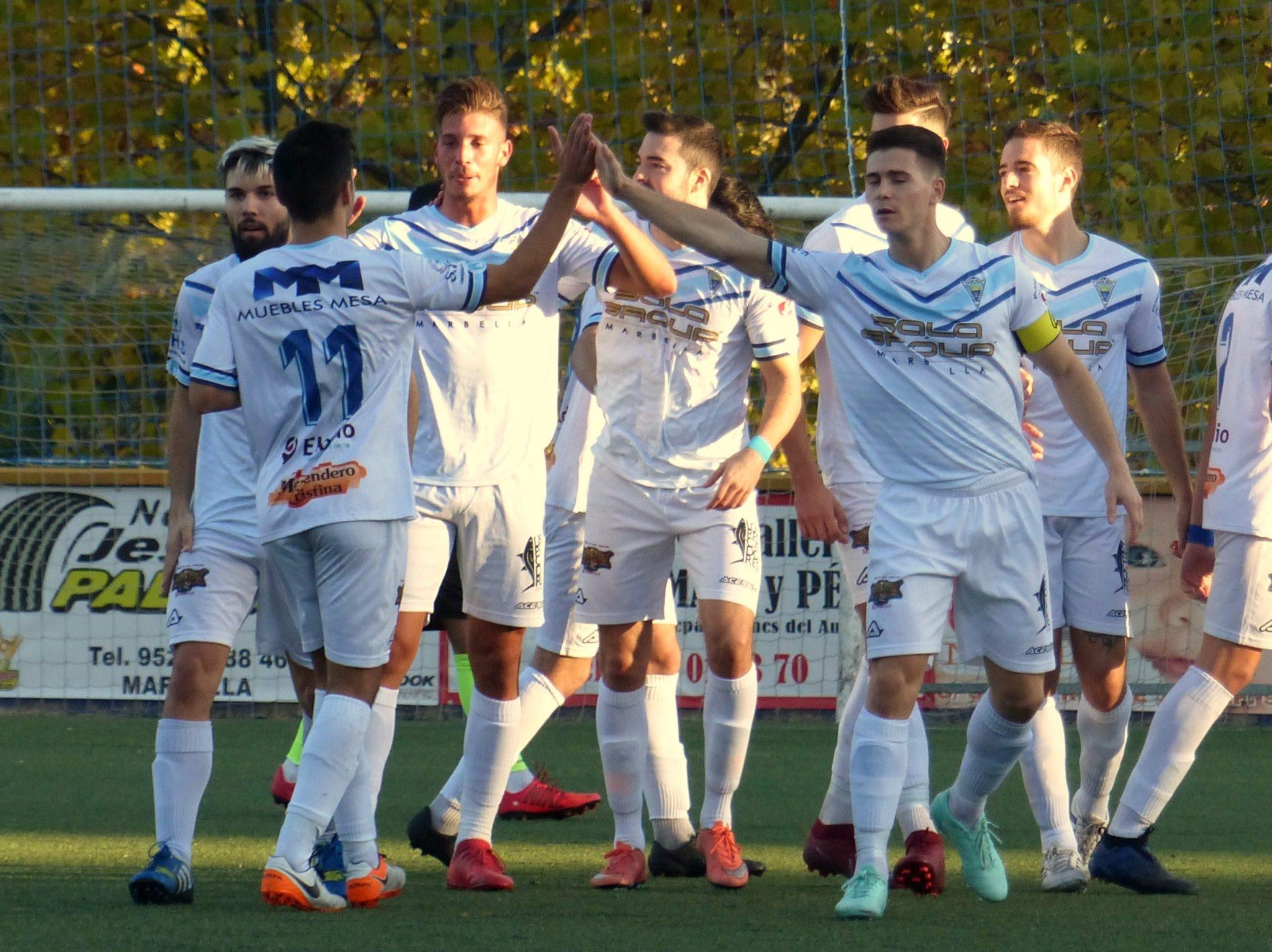 Suma y sigue del C.D. Atlético Marbella con su victoria frente al C.D. Mijas