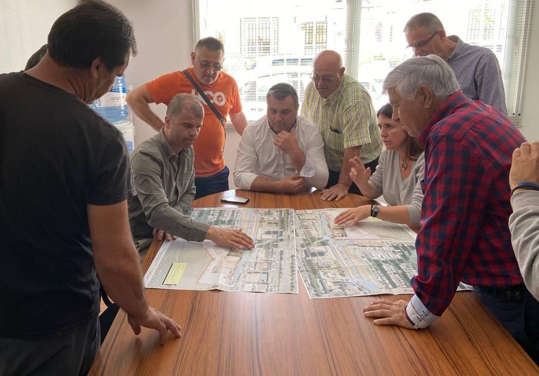 Trasladan a la Cofradía de Pescadores el proyecto de mejora del Puerto Pesquero La Bajadilla