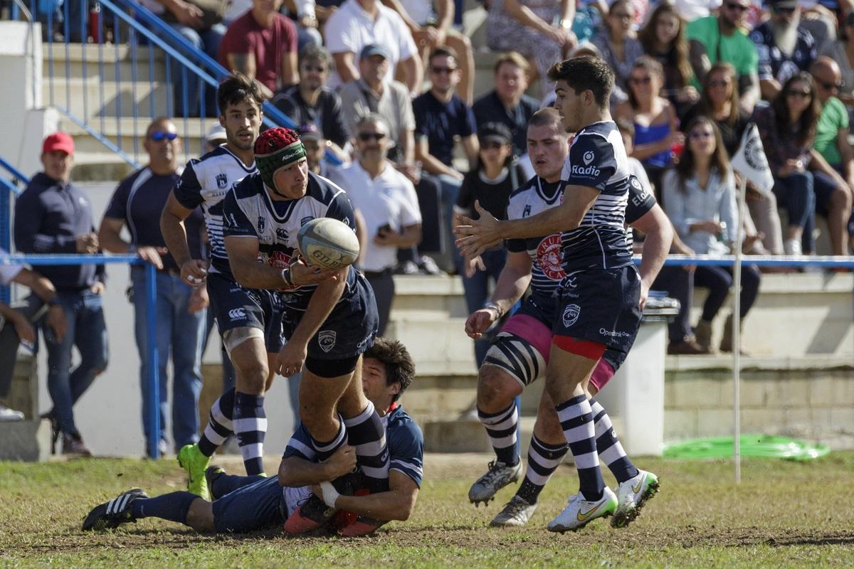 Trocadero marbella pierde ante pozuelo, partido rugby