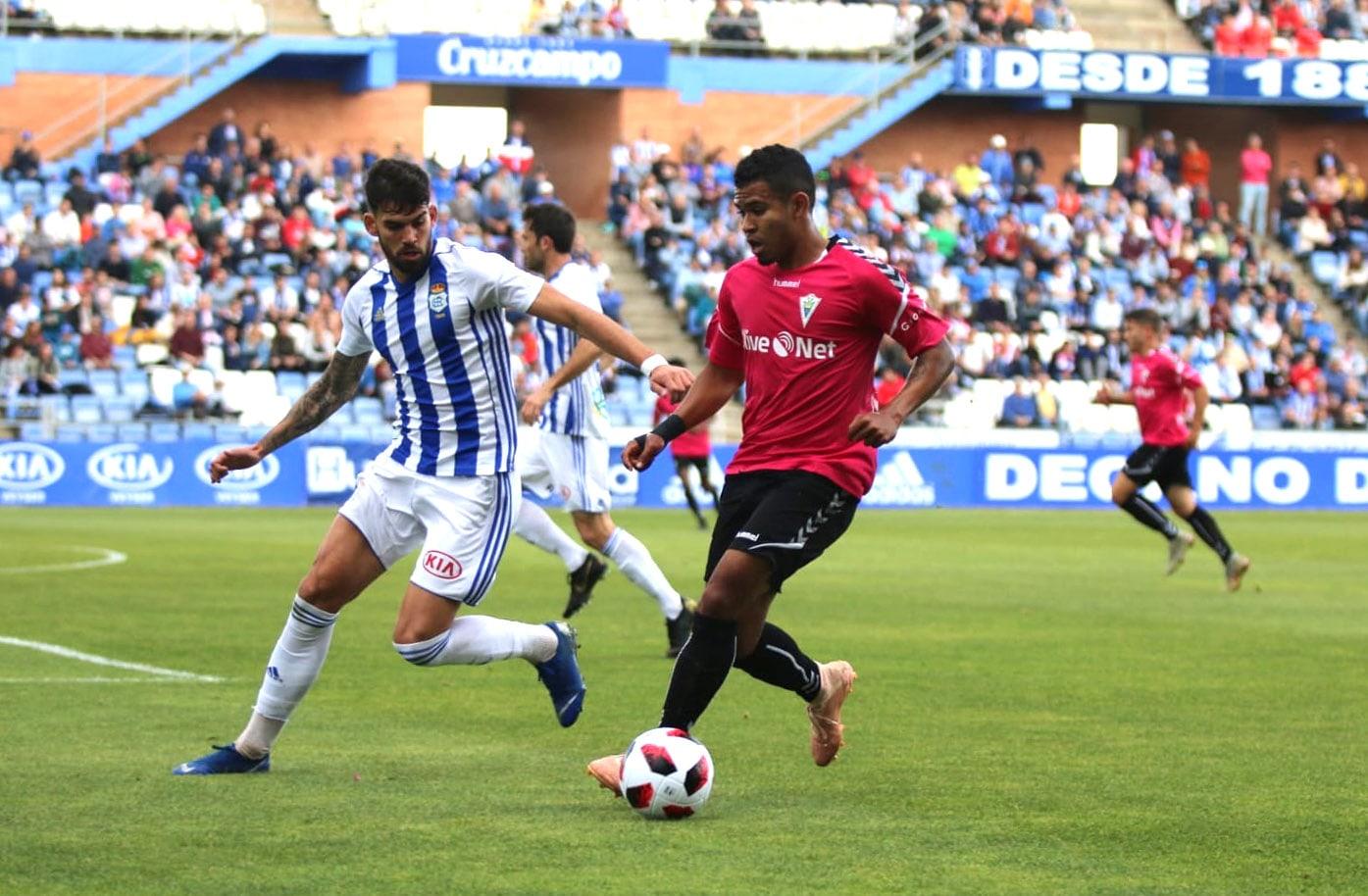 Un buen Marbella F.C. suma (0-0) en el campo del Recreativo y sigue invicto en la segunda vuelta