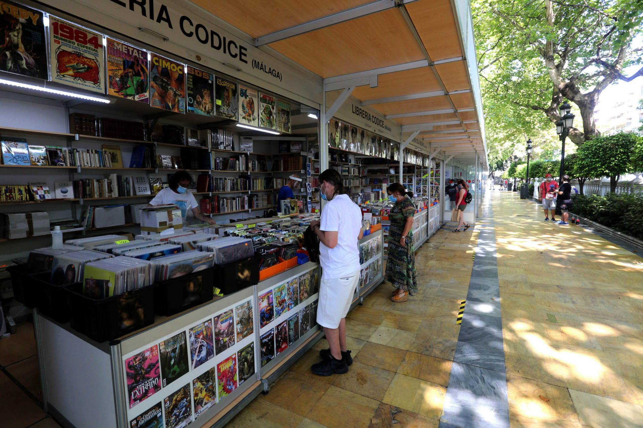 Un total de 16 librerías participan en la nueva edición de la Feria del Libro de Marbella