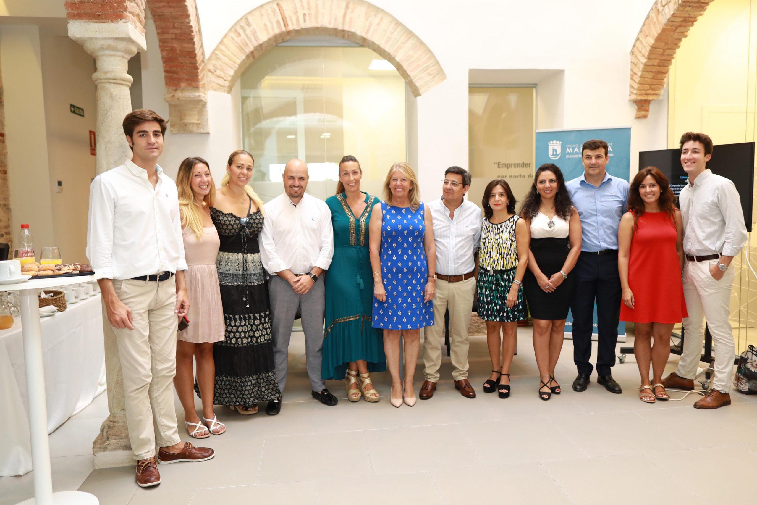 Una decena de nuevos proyectos se suman hoy al Vivero de Empresas de Marbella