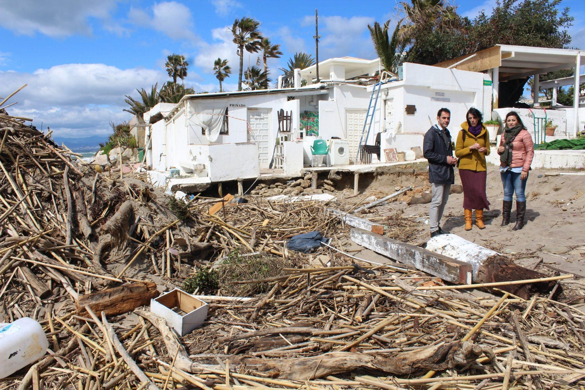 Unidos Podemos reclama en el Congreso medidas para prevenir las consecuencias del cambio climático en la Costa del Sol