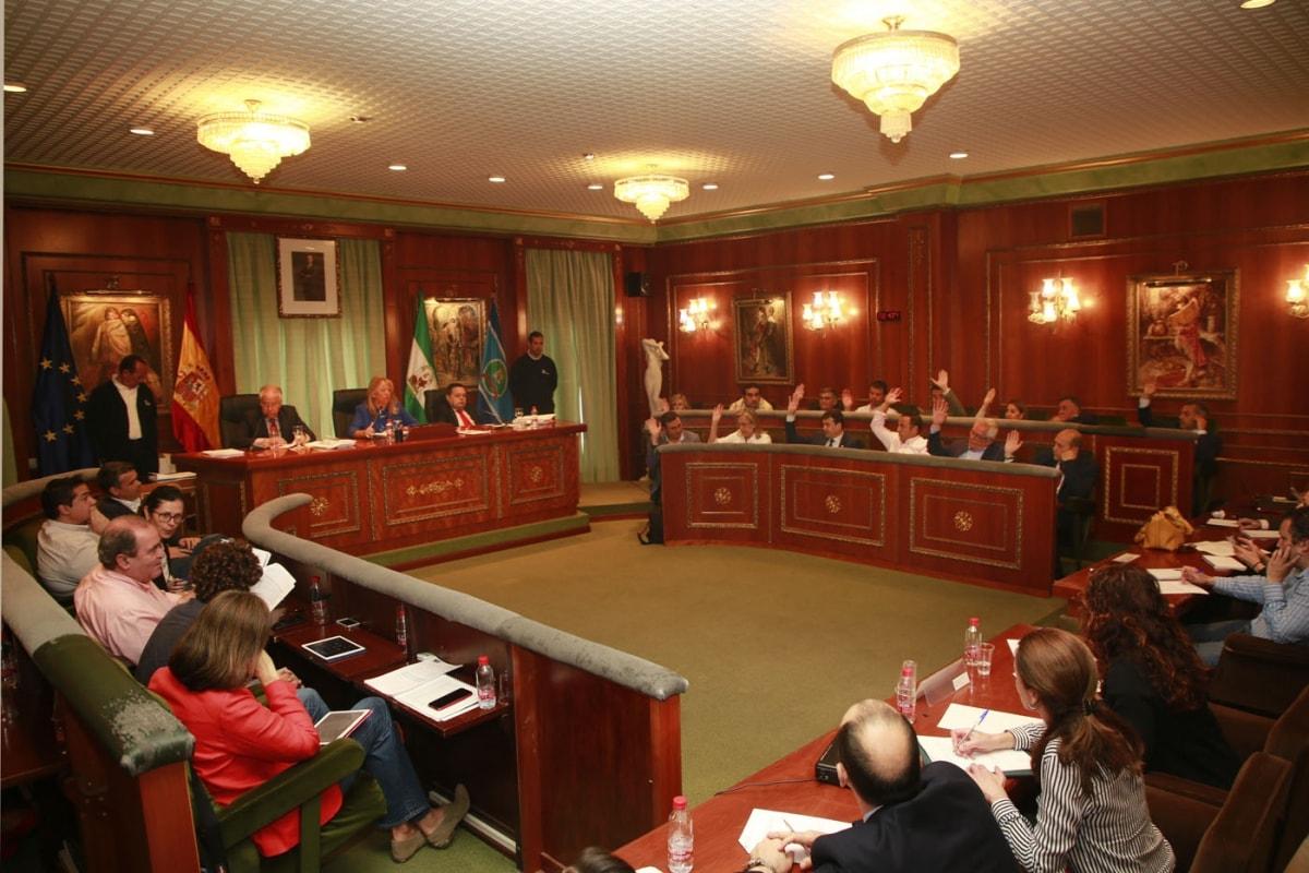 pleno de ayuntamiento de Marbella Fijadas las líneas estratégicas del nuevo urbanismo de Marbella