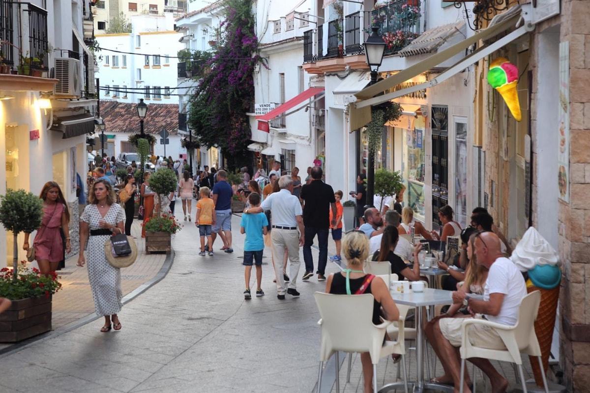 Marbella recibió en septiembre más de 92.000 visitantes, la mayor cifra de los últimos 14 años