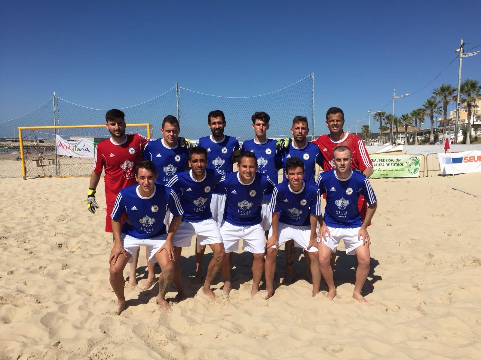Vibrante encuentro del C.D. Fútbol Playa Marbella contra el Cádiz CF. Aluminios Sotelo