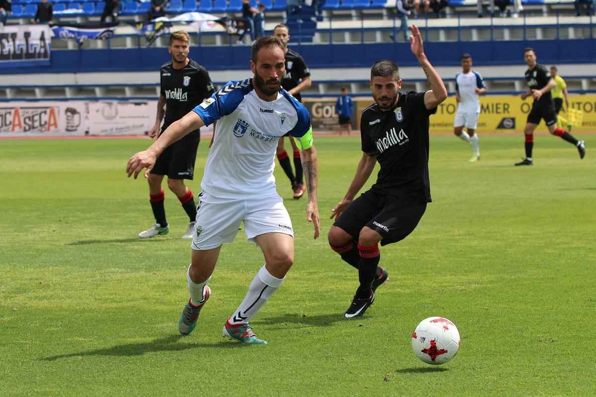 Gran victoria del Marbella Fútbol Club ante el Melilla