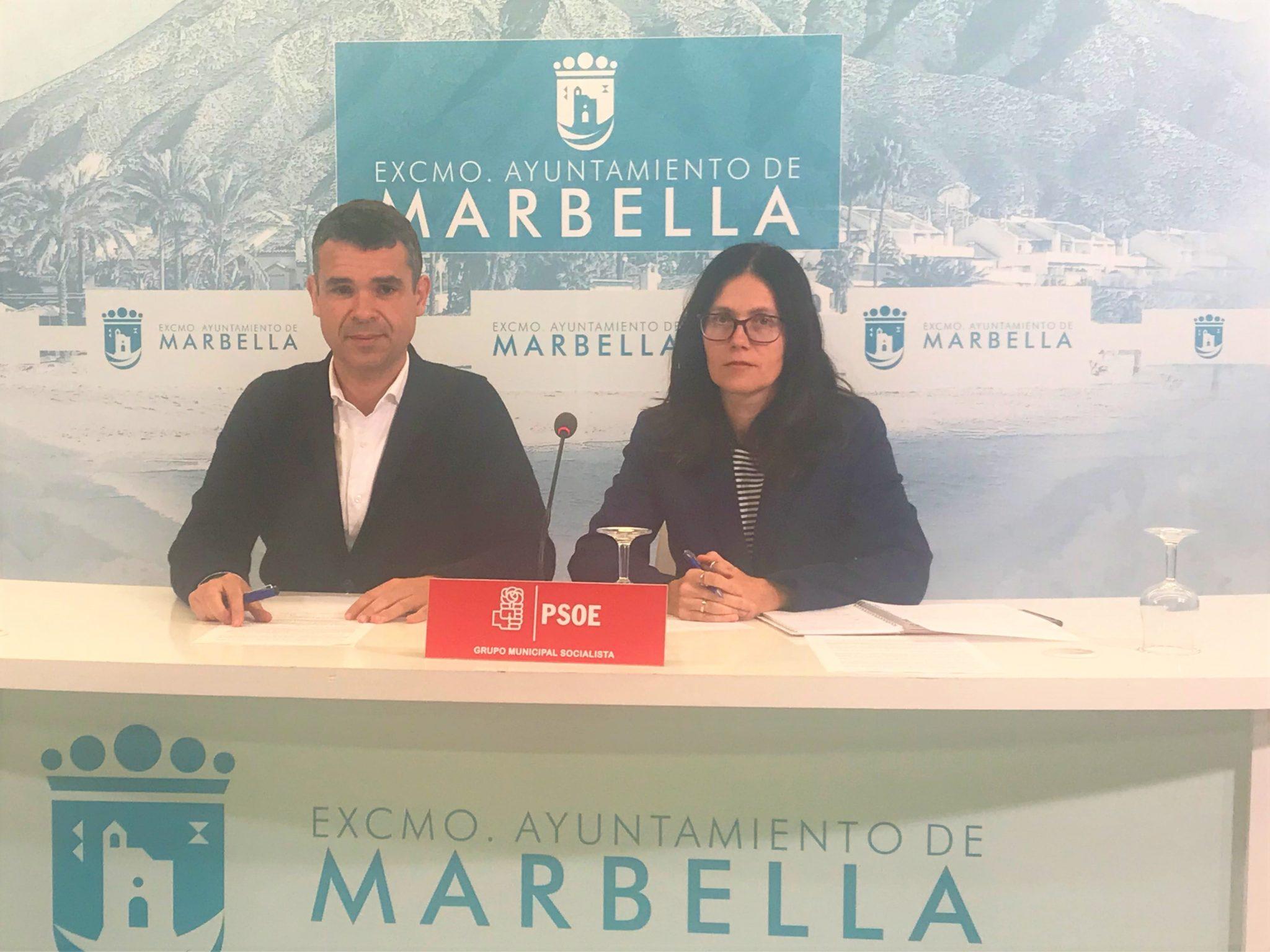 Los concejales del Grupo Municipal Socialista José Bernal e Isabel Pérez han anunciado hoy que el PSOE llevará a pleno que se declaren las viviendas sociales del municipio de especial interés o utilidad pública para que se les pueda bonificar un 95 por ciento el Impuesto de Bienes Inmuebles (IBI)