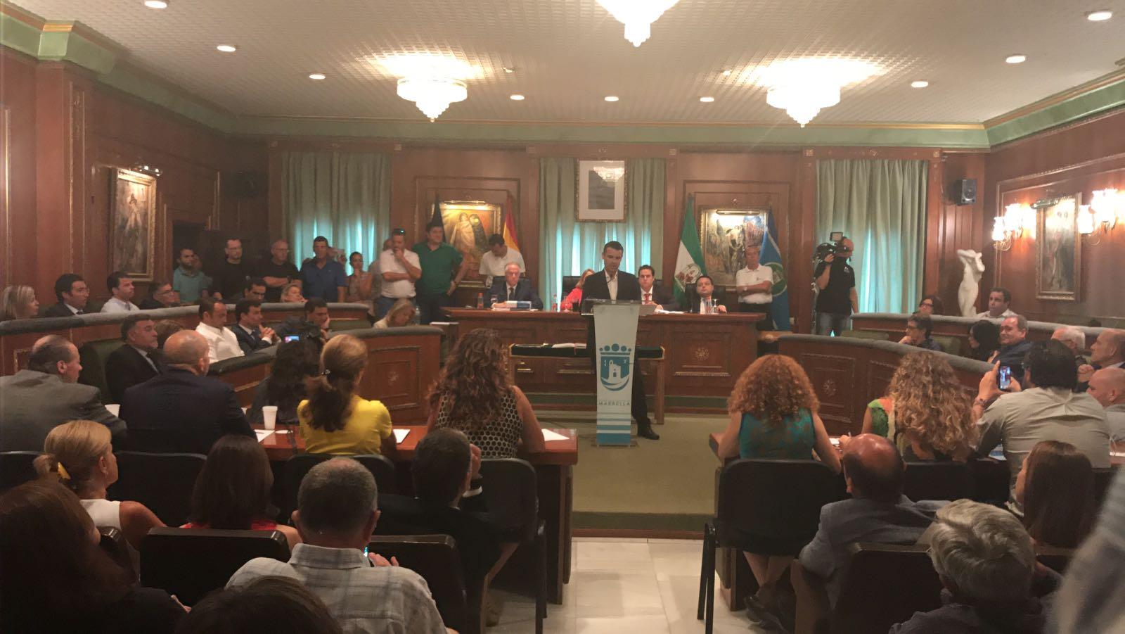 Debate moción censura en Marbella