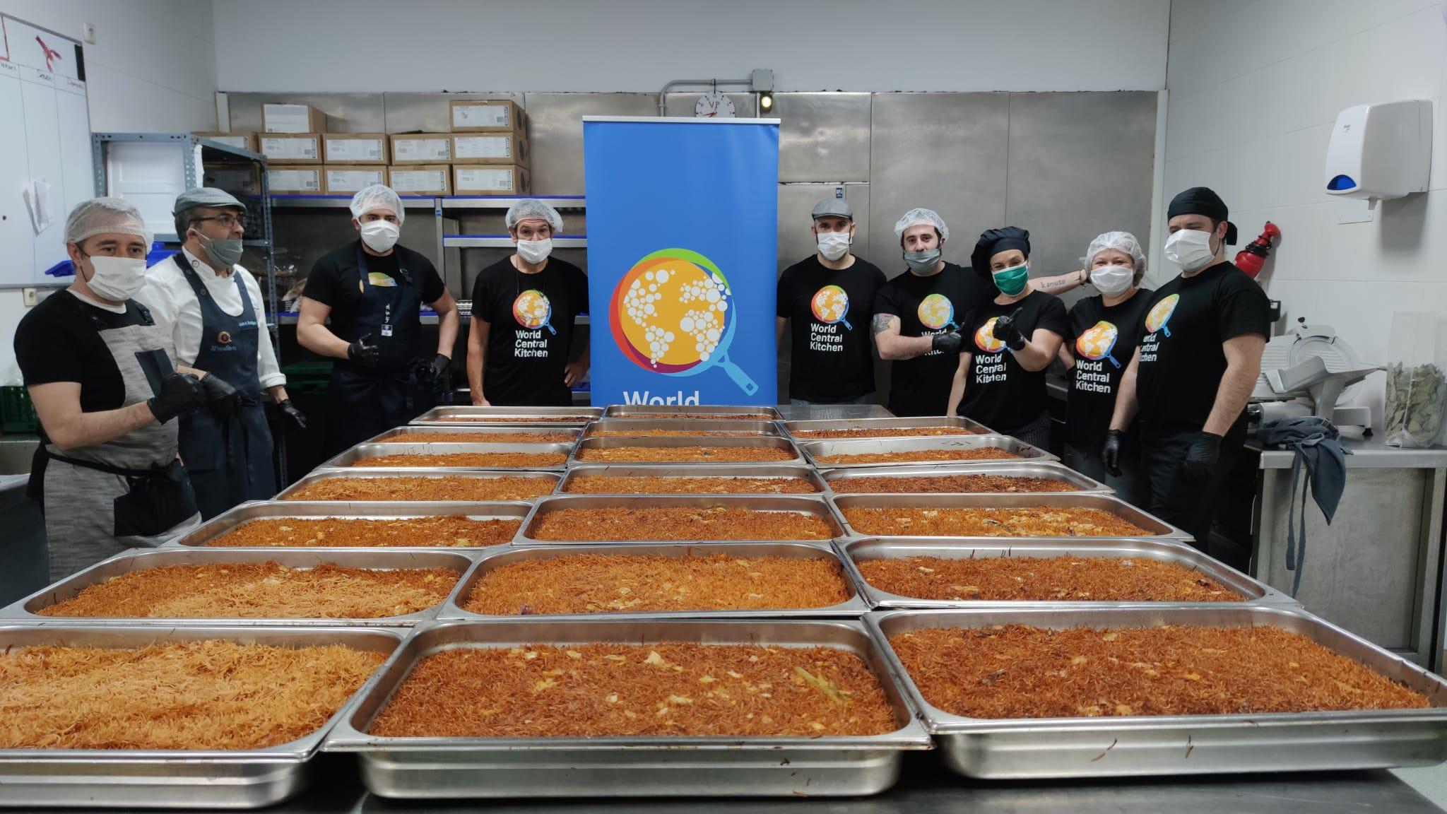 World Central Kitchen alimenta cada día a 1.500 personas en Marbella y San Pedro