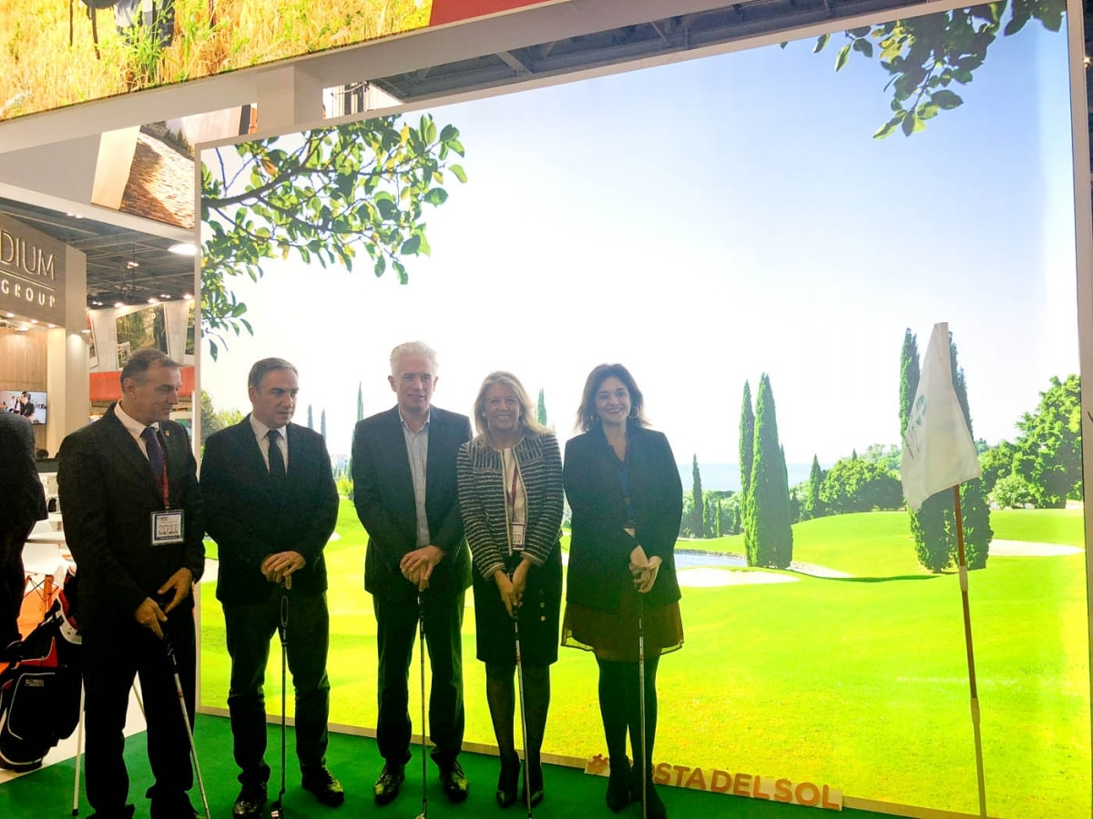 La alcaldesa destaca la excelencia del destino Marbella en la jornada inaugural de la World Travel Market de Londres