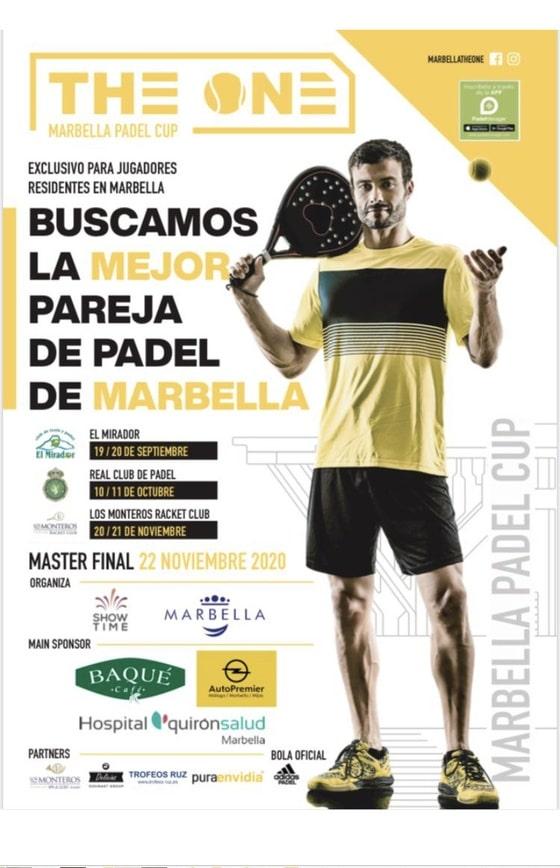 Ya está aquí la primera de la Marbella Pádel Cup