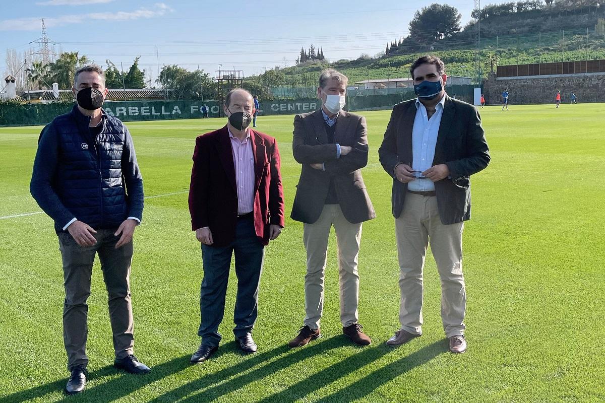 11 campos para equipos del municipio en el Marbella Football Center