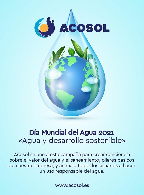Acosol celebra el Dia Mundial del Agua con acciones de concienciacion